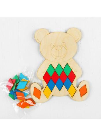 Пазл - мозаика Мишка Smile Decor П021 Купить