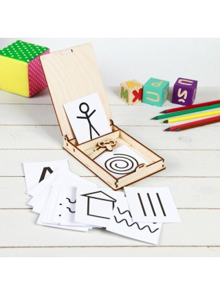 Коробочка для волшебного рисования, Smile decor П215