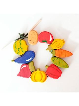Шнуровка Овощи, Сказки дерева (14008)