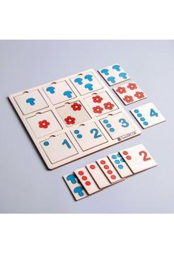 Таблицы Шульте для малышей, Smile Decor П242