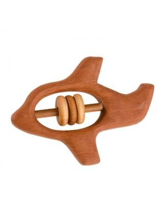 Погремушка - грызунок Самолетик, Леснушки