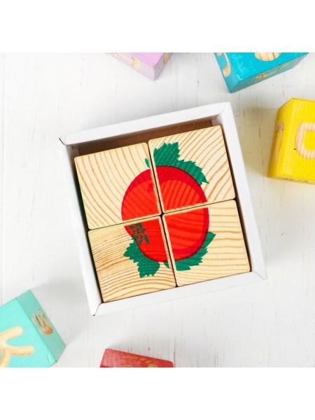 Кубики-пазлы Томик Овощи 3333-6
