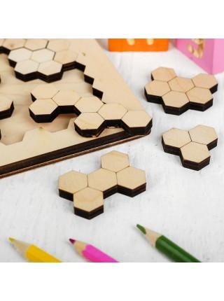 """Головоломка """"Пчелиные соты"""" Мастер игрушек IG0122"""