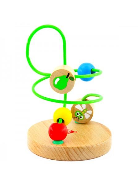 Лабиринт № 5 - деревянная игрушка МДИ LL146