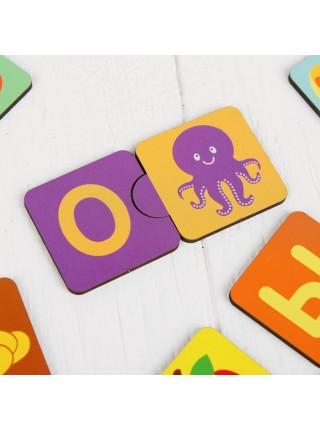 Пазл для малышей Алфавит русский, Мастер игрушек IG0127