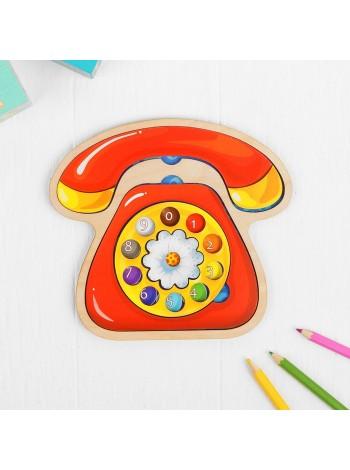 Деревянный Пазл Телефон Smile Decor купить