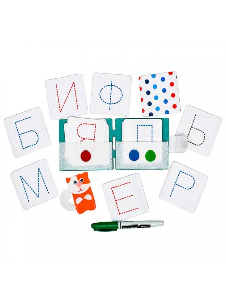 Пособие Учимся писать. Печатные буквы, Smile Decor Ф602