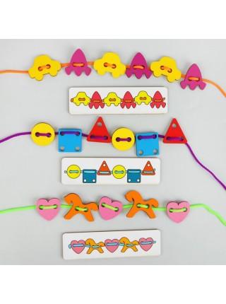 Большой шнуровальный набор, Smile Decor Ш004