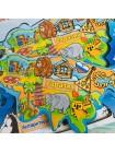 Рамка-вкладыш Материки и океаны купить