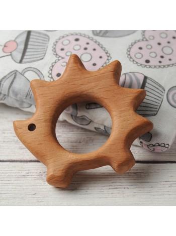 Деревянные игрушки Леснушки грызунок Ёжик, купить