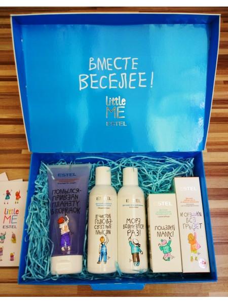 """Набор ESTEL Little Me Коллекция для мальчиков """"Вместе веселее"""" (5 продуктов)"""