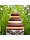 Пирамидка круглая Леснушки, дуб-клен, купить