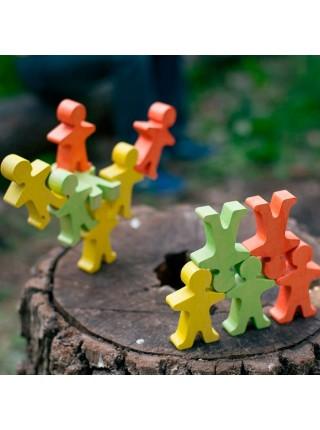 Акробаты разноцветные 12 шт. Сказки Дерева (06015)