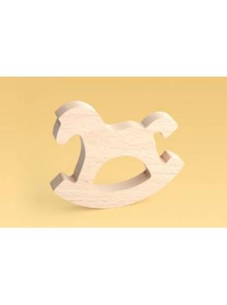Коник-качалка большой (Деревянный) Царицынская игрушка CI-KC005