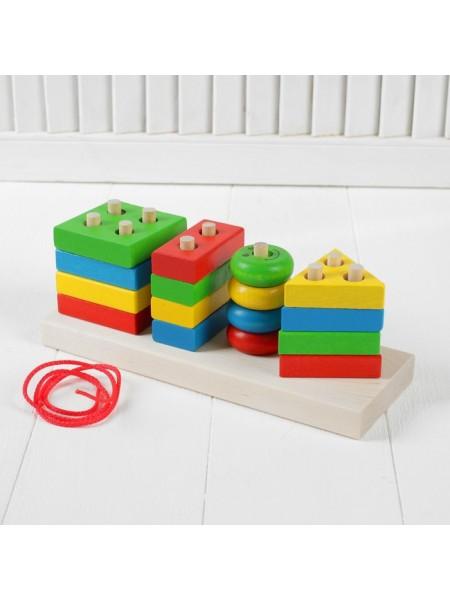Набор Краснокамская игрушка НСК-01 Геометрик