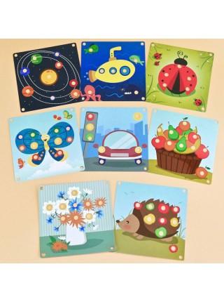 Мозаика Мини - Радуга Кидс (8 карточек)