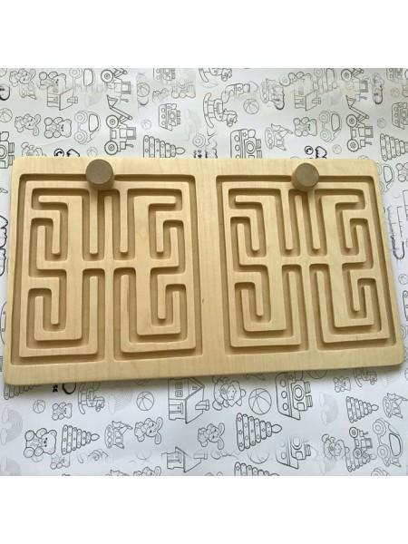 Межполушарная доска - деревянный лабиринт