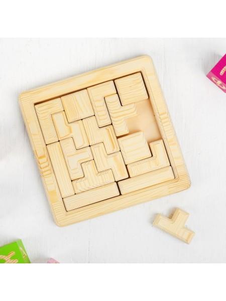 Игра головоломка - Тетрис (неокрашенная) Smile Decor П046