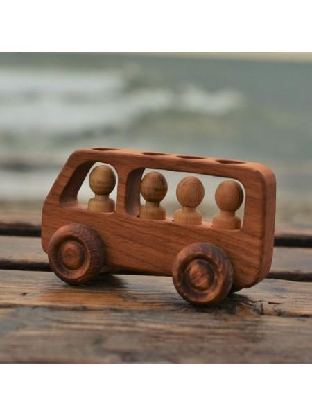 Машинка Автобус с пассажирами, Леснушки L0816