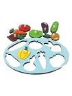 Рамка-вкладыш «Фрукты и овощи» купить