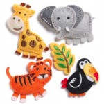 Фетровые игрушки. Развивающие игрушки из фетра ручной работы