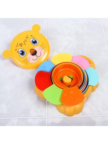 Игрушка для купания «Пирамидка Львенок»