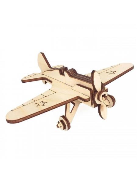 """Сборная модель """"Военный самолет И-16"""""""