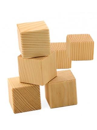 Кубики Неокрашенные, 4 шт. Пелси И659