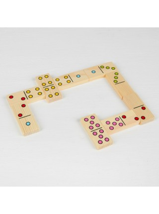 Настольная игра домино Точки, Томик 5655-2