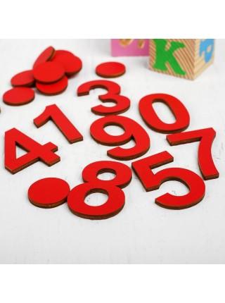 Кружки и цифры, Smile Decor А011