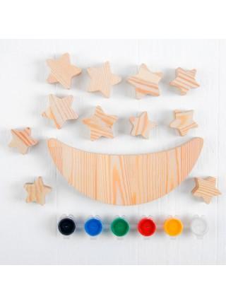 Луна-равновеска с красками, Smile Decor, Т1000