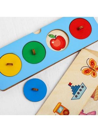 Тренажер для детей четвертый лишний, Smile Decor П043