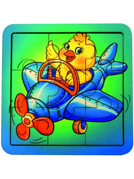 Пазл Самолет , Smile Decor, П038