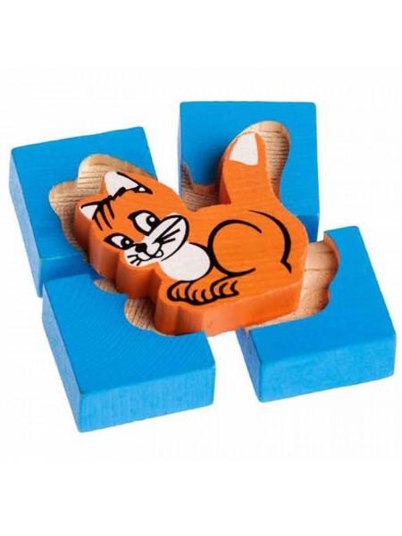 Рамка-вкладыш Томик Кошка (1-02) , элементов: 5 шт.