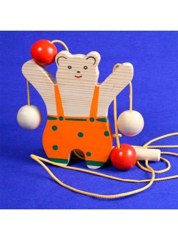 Медведь верхолаз Богородская игрушка купить