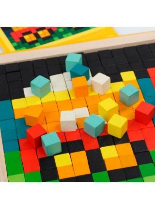 Пиксельная мозаика Космос