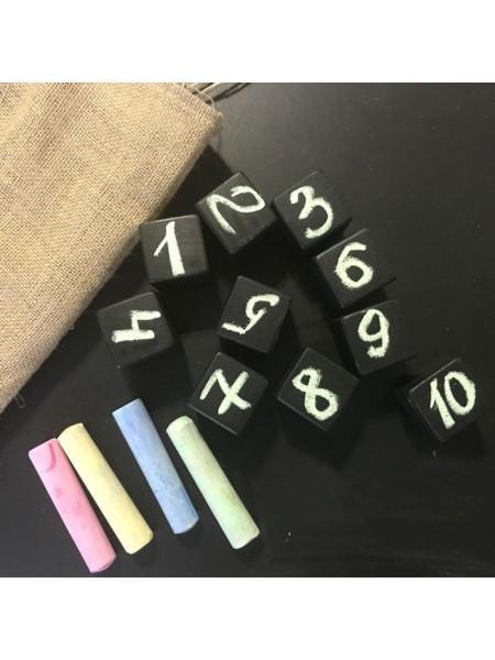 Грифельные кубики / Меловые кубики