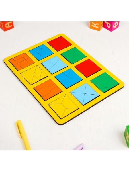 Игра Сложи квадрат Б.П.Никитин, 2 уровень (макси) Smile Decor Н005