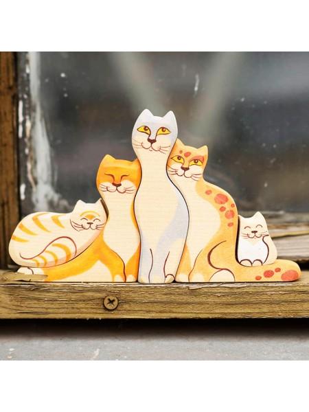 Кошки цветные (семейка), Сказки дерева
