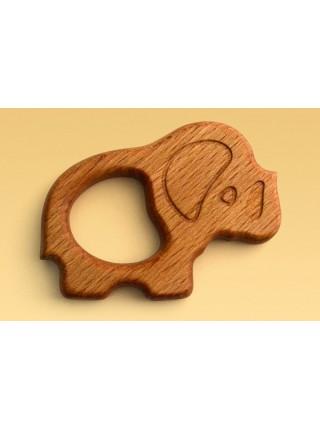 Прорезыватель Царицынская игрушка Слоник CI-GR017