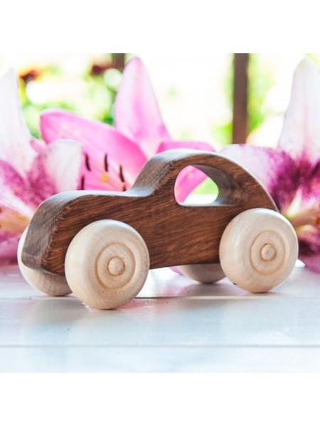 "Машинка ""Ретро"" - Деревянная игрушка, Леснушки L0803"