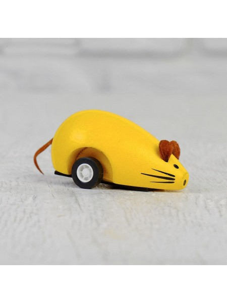Игрушка инерционная Мышка, микс