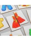 Картинки-половинки Одежда купить