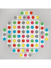 Коврик-головоломка Магические круги, Smile Decor Ф281