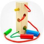 Шнуровки бусы – это такие уникальные детские игрушки