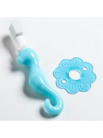 Силиконовая зубная щетка «Морской конёк»