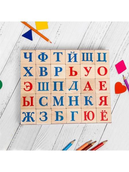 "Кубики ""Алфавит"", 30 шт Пелси И670"