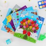 Многофункциональная игра Резинки, Smile Decor П218