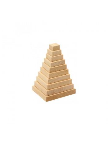 """Деревянная пирамидка"""" Квадрат"""" купить"""