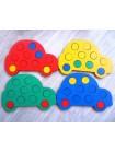"""Мозаика """"Машины"""", 4 машины, SmileDecor П025 купить"""